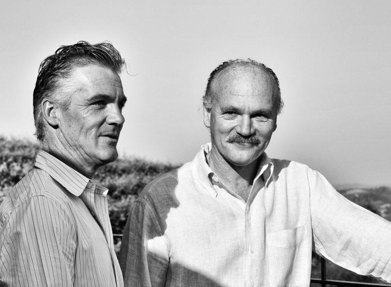 Massimo e Roberto Damonte di Malvirà, orgogliosi di una terra che ospita vigneti eccellenti: il Roero